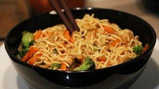 Recette nouilles chinoise sautées facile et rapide
