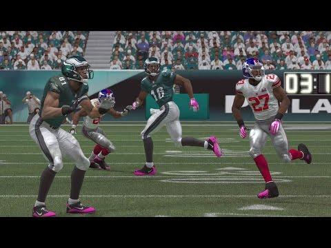 Madden 15 (PS4): Sunday Night Football - Eagles vs Giants Sim