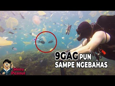 Viral Laut Bali Tercemar Ramai Dibahas Media Luar, Stop Buang Sampah Sembarangan
