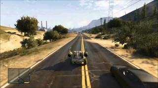 GTA 5: How to get the secret alien car