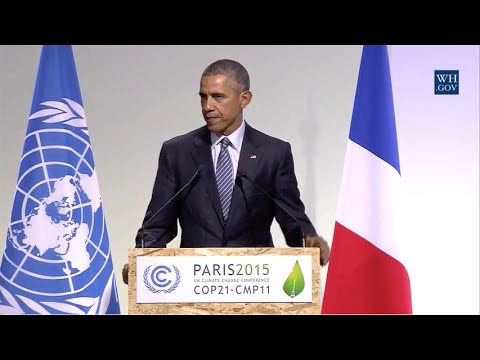 Conference Organizers Hit the Buzzer as Obama's Climate Speech Goes 11 Minutes Over Schedule