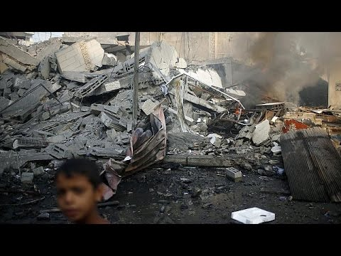 Gaza conflict: Fresh ceasefire hopes after 50 days of fighting