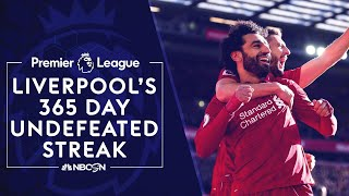 Relive Liverpool's incredible 365-day undefeated streak | Premier League | NBC Sports