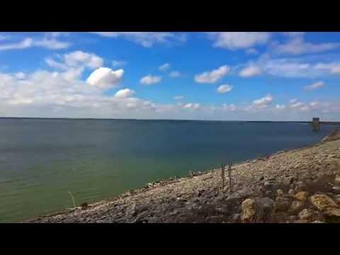Lake waco dam time youtube for Lake waco fishing report
