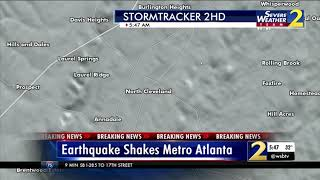 RAW VIDEO: Q & A With Geophysicist About Earthquake That Rattled Georgia