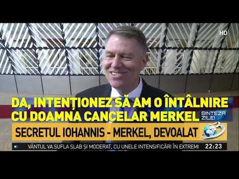 Secretul Iohannis - Merkel, devoalat