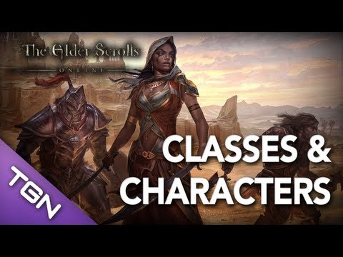 ★ Elder Scrolls Online : Classes and Character Advancement