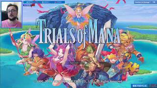 Weeb of Mana #TrialsOfMana (découverte) Benzaie Live