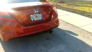 Greddy Evo 3 Exhaust 2012 Civic Si FG4