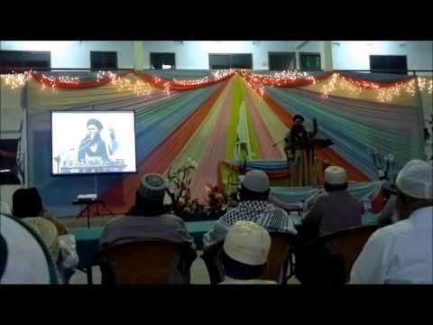 Taqreer: Eid Milad Un Nabi | Islamic Centre SMA - Livorno | 720p HD