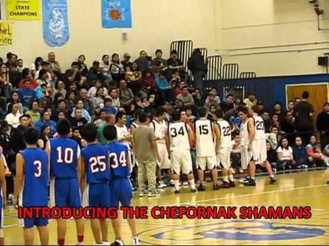CHEFORNAK SHAMANS VS TOSOOK ISLANDERS - BOYS BASKETBALL @ BETHEL REGIONAL HIGH SCHOOL - 2011