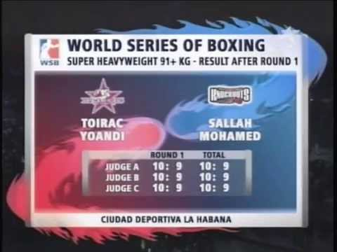 World Series Of Boxing Cuba vs Usa