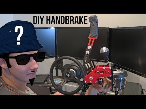DIY Simulator Handbrake + Surprise House Guest