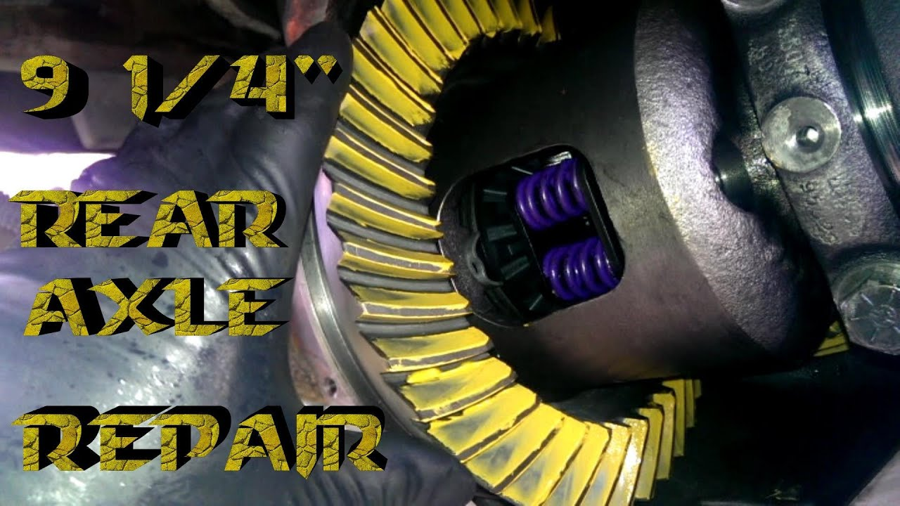 """How to Rebuild 9 1/4"""" Rear End 1970-2009 - YouTube"""