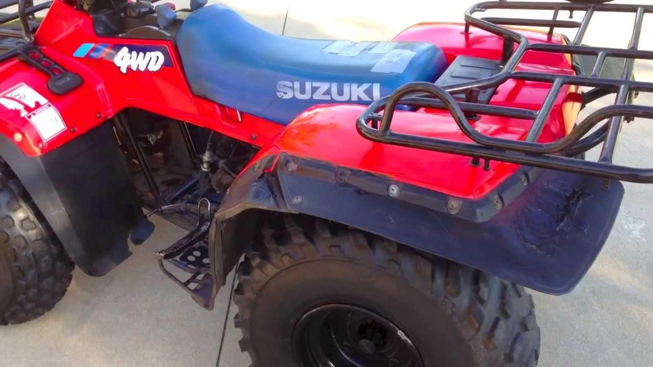 Suzuki Quadrunner Hp