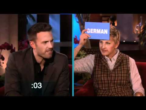 Learning Accents with Ben Affleck