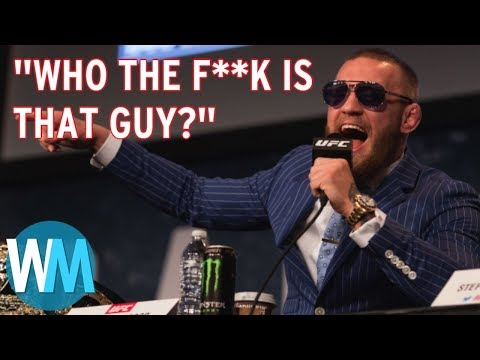 Top 10 Conor McGregor Moments – Outside the Octagon