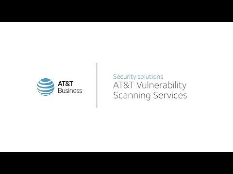 AT&T Vulnerability Scanning Services