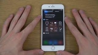 iPhone 6 iOS 8 Vidgets Widget Review