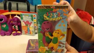 Kiana's Barney VHS Collection! :)
