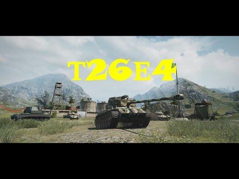 World Of Tanks - Затащили взводом на T26E4 Super Pershing [Невероятный бой]
