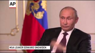 Vladimir Putin Talks US-Russia Relations, Snowden 9/5/13
