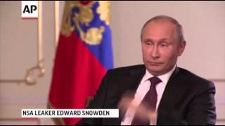 Vladimir Putin Talks US-Russia Relations, Snowden 9/5/13