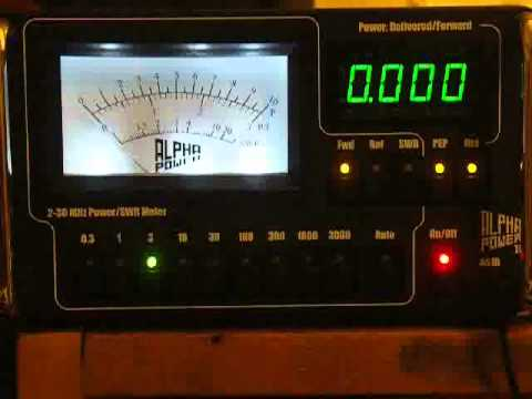 THE QUICK RED FOX QRP DATA TEST.wmv