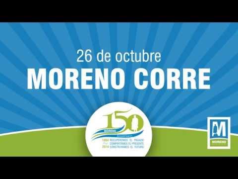 Moreno Corre por sus 150 Aniversario