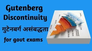 gutenberg discontinuity||गुटेनबर्ग -असंबद्धता|| geography for upsc ias cbse exam||pws classes