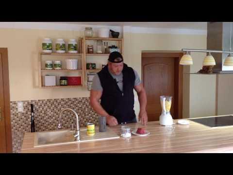 Ernährung von und mit Martin Hoi  - Rindfleischshake