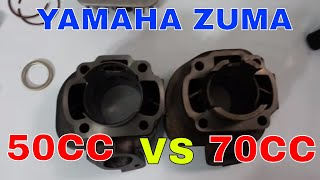 50cc to 70cc kit for a zuma, vino, or jog engine