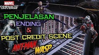 SPOILER !! Penjelasan Ending dan Post Credit Scene Ant-Man and The Wasp | Marvel Indonesia
