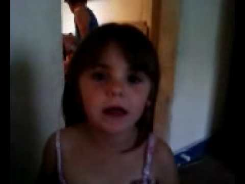5 Year Old Singing Our Song By Taylor Swift =)