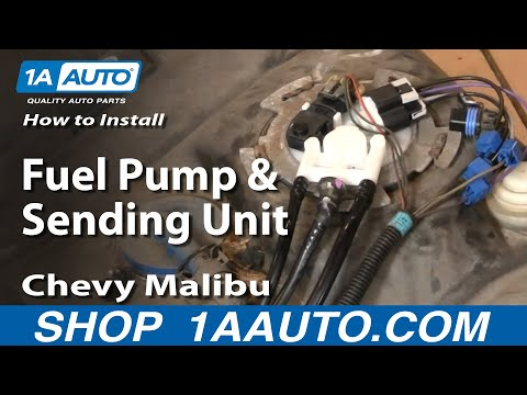 How To Install Replace Fuel Pump and Sending Unit Chevy Malibu 99-03 1AAuto.com