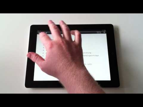 iA Writer iPad App Preview