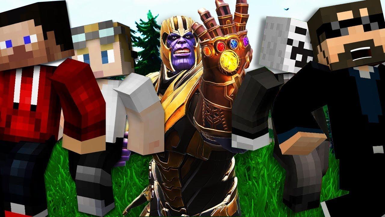 Minecraft: FORTNITE MURDER | MODDED MINI-GAME