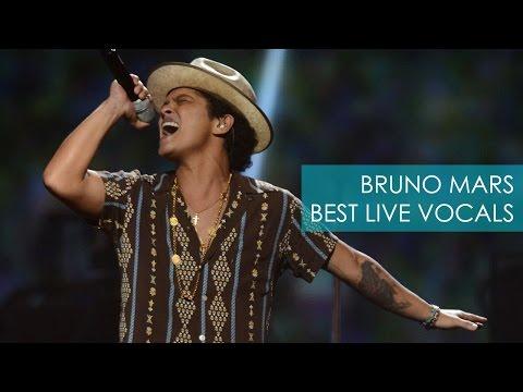 Bruno Mars' Best Live Vocals