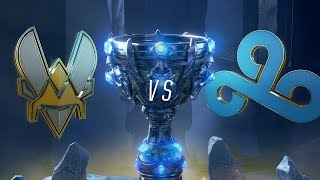 Mundial 2018: Team Vitality x Cloud9 (Jogo 1)   Fase de Grupos - Dia 2
