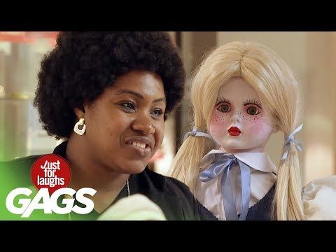 Scary Doll Pranks | Best of Just For Laughs Gags