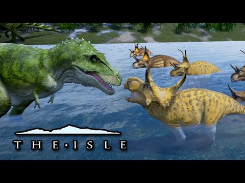 Dinosaur BATTLE!! - The Isle