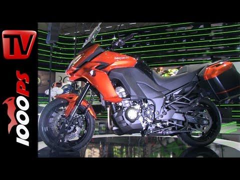 Kawasaki Versys 1000/650 Walk Around | Specs - Live Pictures