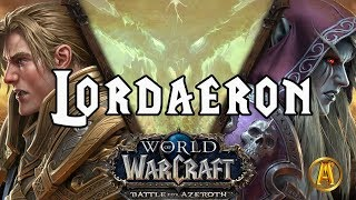 Lordaeron: The Movie - ALL CUTSCENES [8.0.1 Battle for Azeroth]