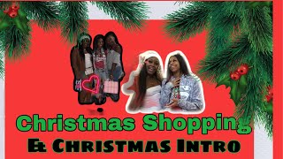Christmas Shopping |Christmas Intro ❣️
