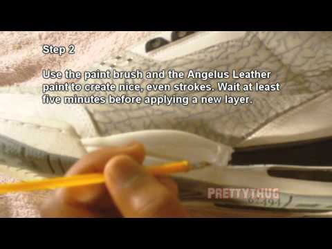 How to Repaint a Midsole TUTORIAL