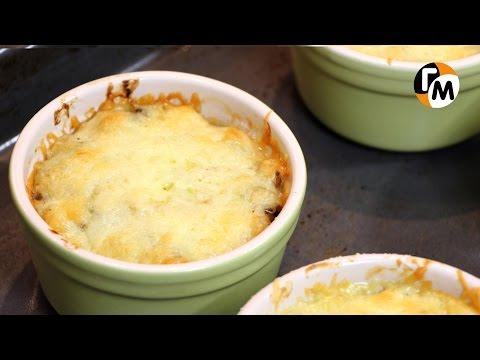 Жульен рецепт | Как приготовить жульен из курицы и грибов -- Голодный Мужчина, Выпуск 70