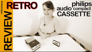Video Philips audio cassette Retro