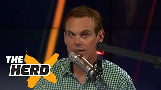 Colin Cowherd does a fantastic Vin Scully impression | THE HERD