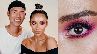 Desi Perkins Inspired Pink Eye Makeup Tutorial By Patrick Ta | Shay Mitchell