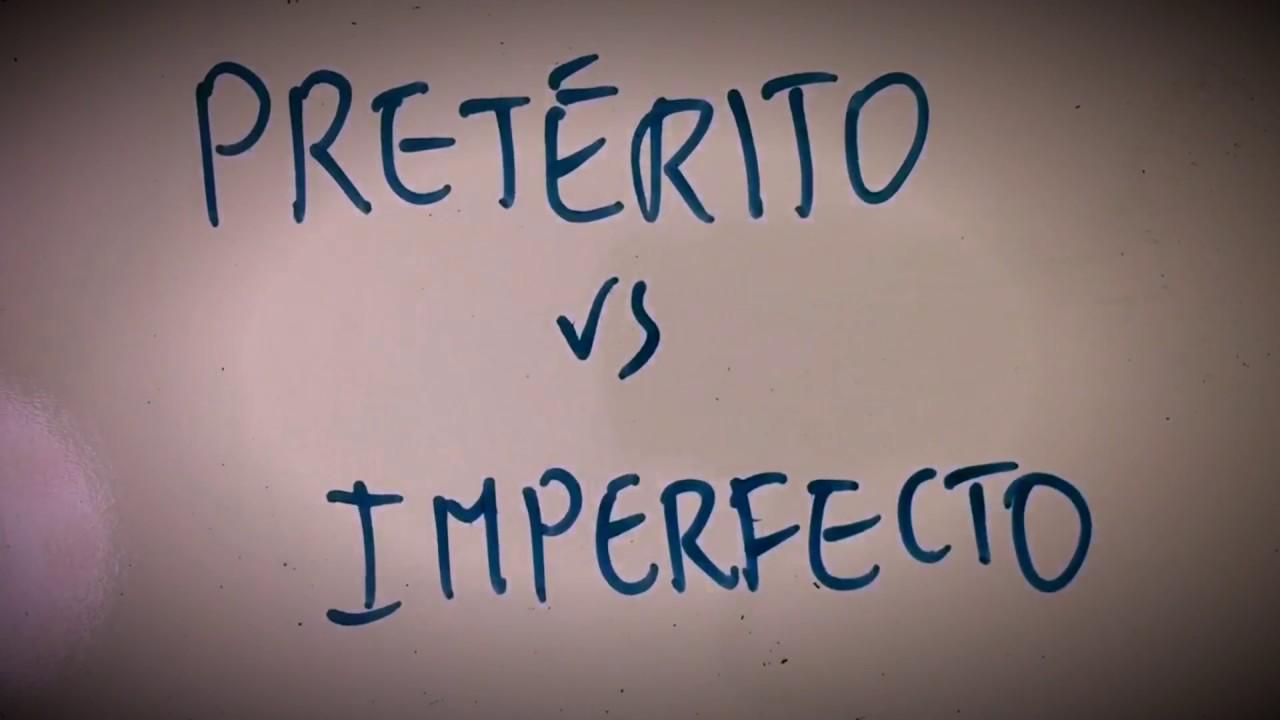 Preterite vs Imperfect (INGLÉS)